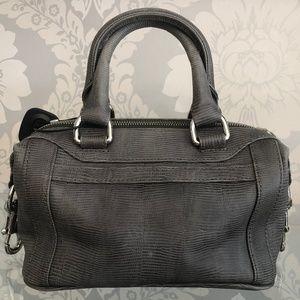 REBECCA MINKOFF / KATE ZHOU Gray Leather Bag